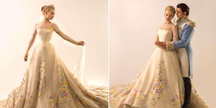 Cenicienta Cinderella traje boda