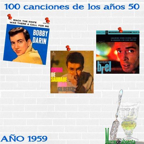 100 canciones de los años 50. Año 1959