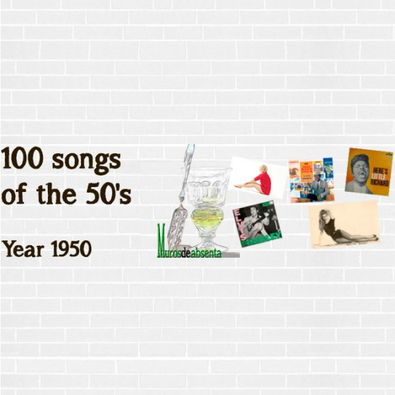 100 songs of the 50's. Year 1950
