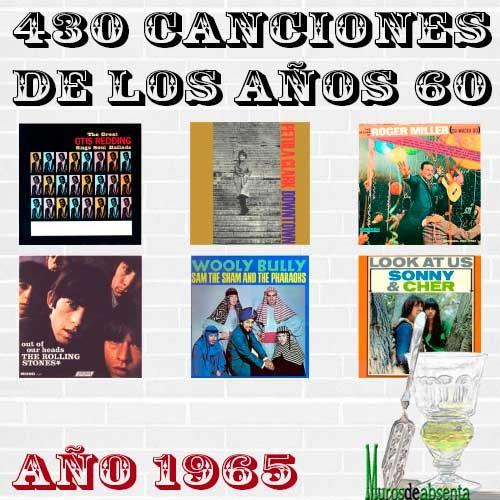 430 canciones de los años 60. Año 1965