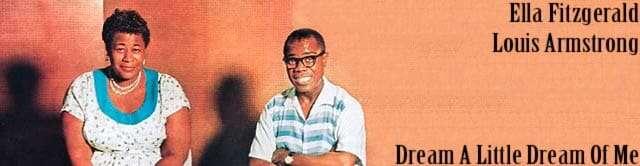 música años 50 - Ella Fitzgerald y Louis Armstrong