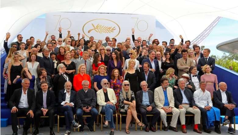 Foto en grupo de Cannes 2017