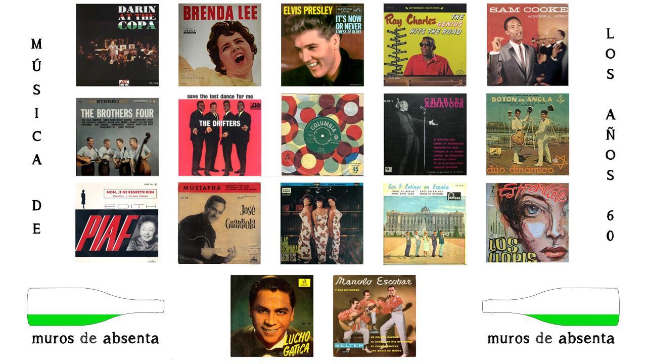 Canciones De Los 60 Música En Español E Inglés Muros De Absenta