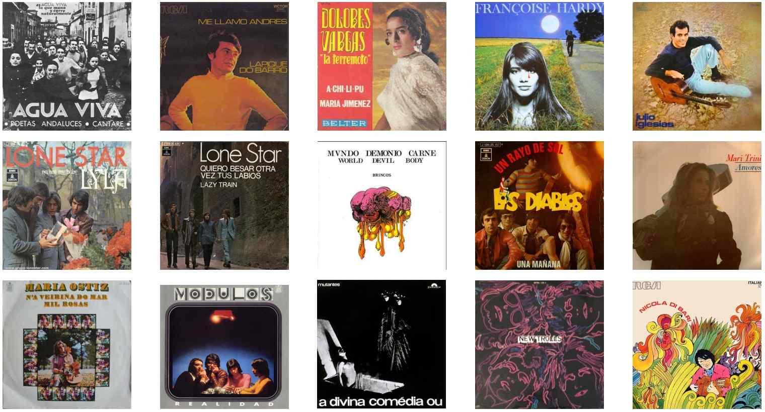 Canciones del año 1970 en español