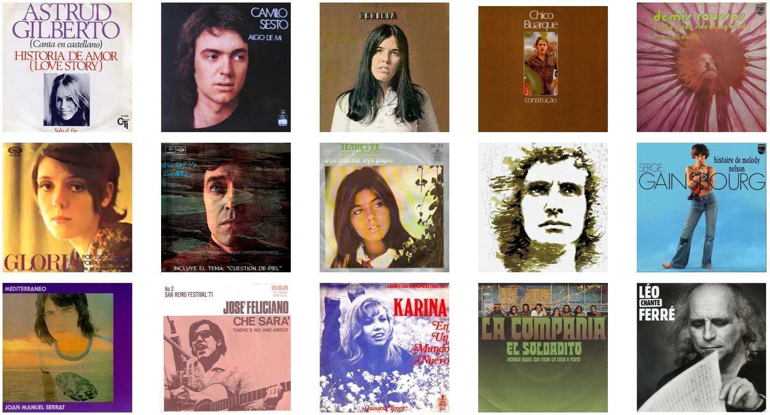 Canciones del año 1971 en español
