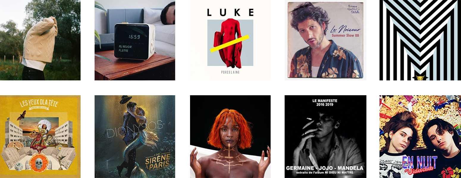 La mejor música francesa de 2019. Top de 10 de canciones