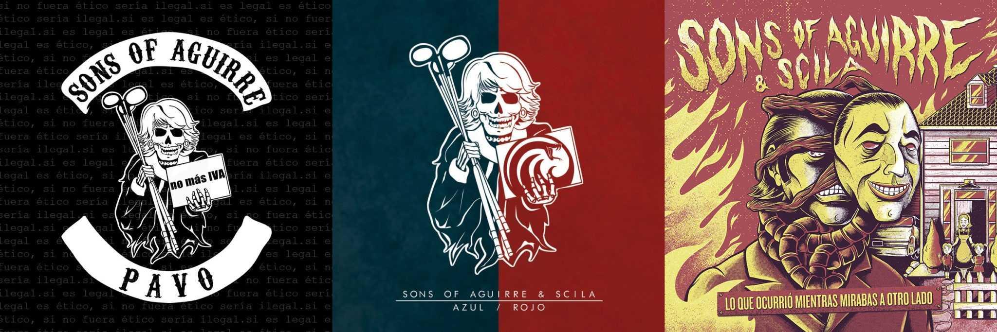 La discografía de Sons Of Aguirre & Scila, canciones sueltas y más