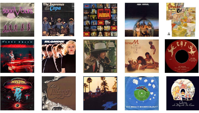 Música de los 50, 60 y 70