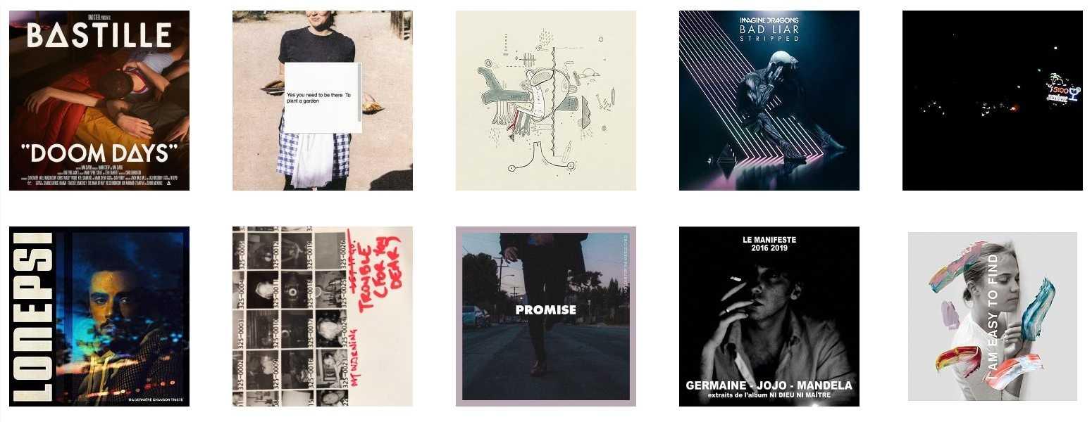 Top 10 canciones tristes favoritas del 2019